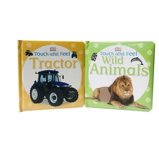 Sách combo 2 cuốn Touch and feel - Dòng sách sờ-chạm và cảm nhận cho bé từ sơ sinh đến 5 tuổi thumbnail