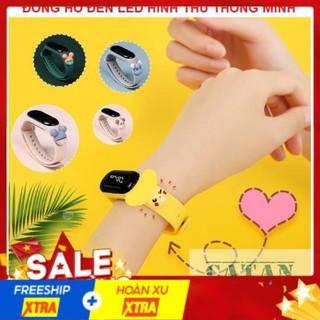 [ RẺ VÔ ĐỊCH ] Đồng hồ thông minh cho bé - Đồng hồ trẻ em silicon ZGO DISNEY Điện Tử BB51-DongHoLed thumbnail