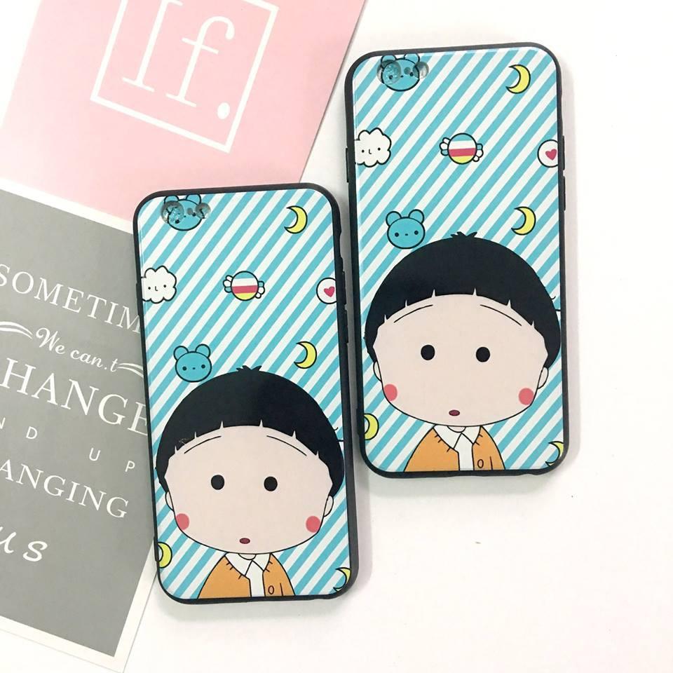 Ốp lưng Maruko chan - iphone 5=>8Plus