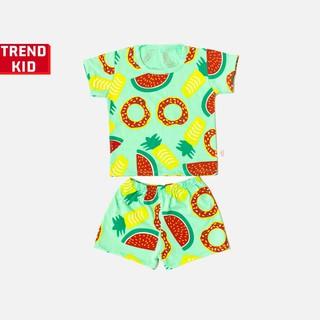 [Mã TREND20 giảm 15% đơn 99K] Bộ quần áo bé trai bé gái chất liệu 100% cotton hình Donut michley
