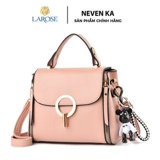 Túi xách nữ công sở da mềm khóa tròn xinh xắn thương hiệu NEVENKA N4026
