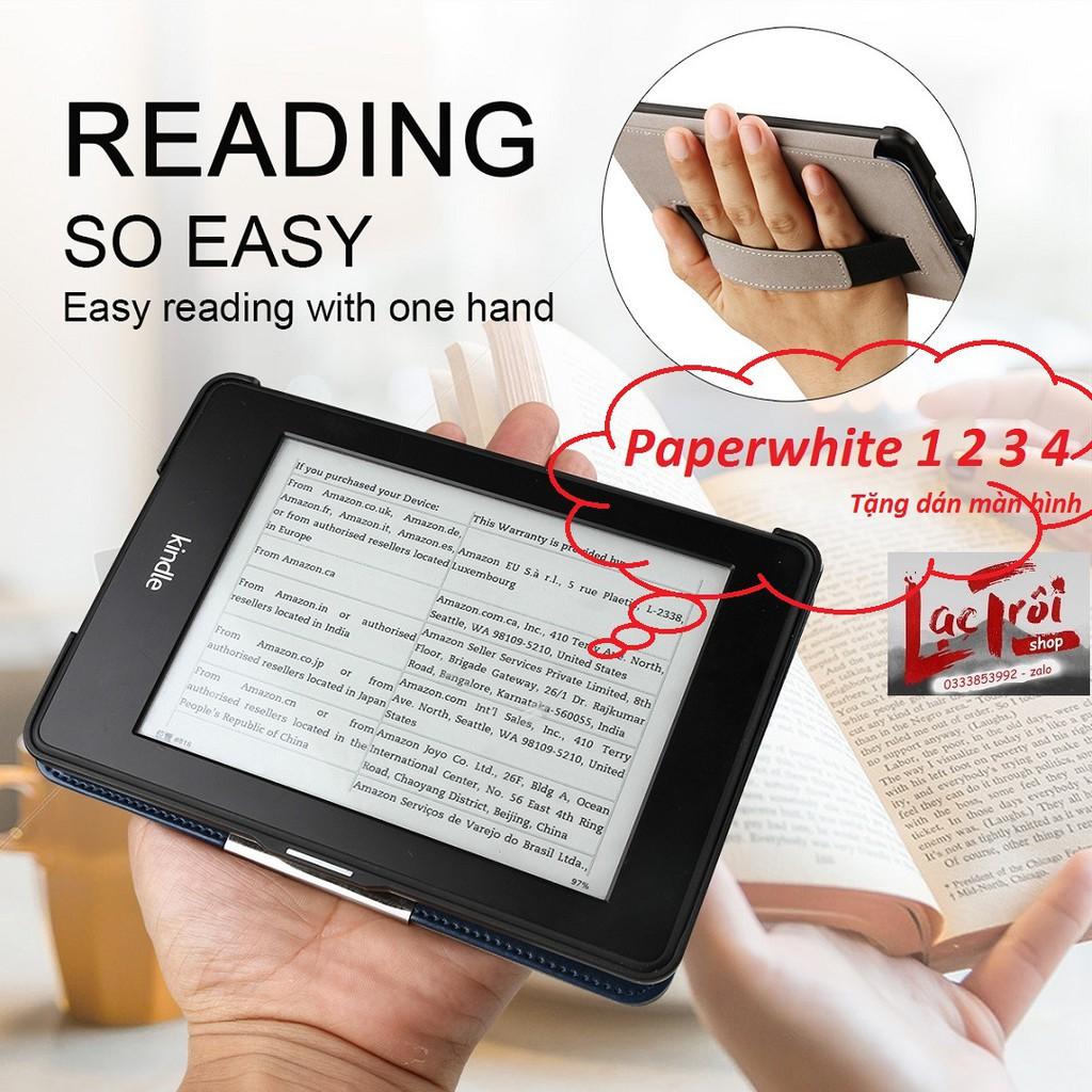 [Kindle PaperWhite] Smart Cover có dây chống rơi