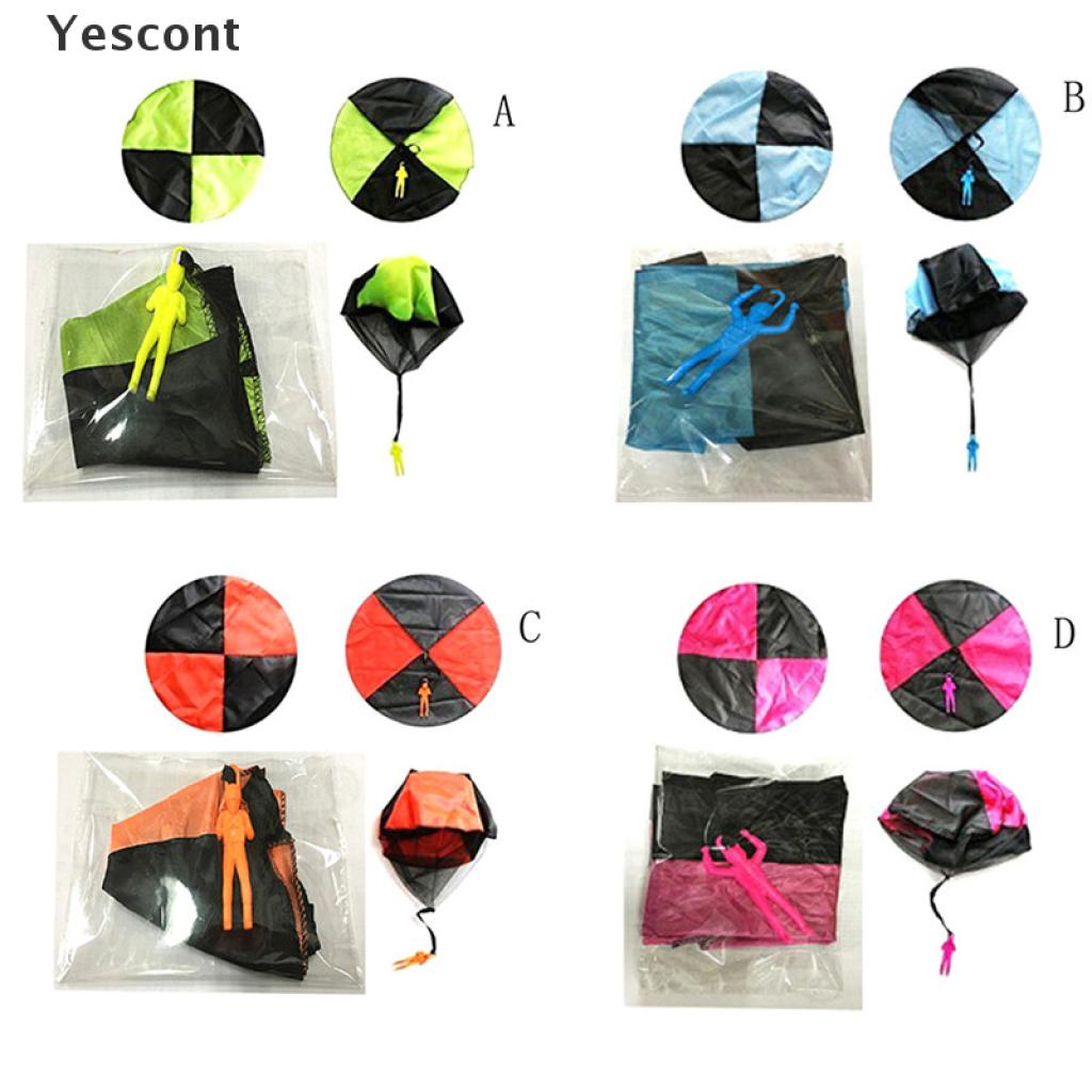 Yescont Hand Throwing Mini Soldier Play Parachute Kids Educational Outdoor Games Toys .