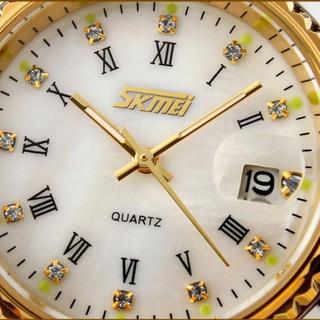 Đồng hồ nam dây thép không gỉ kiểu dáng trẻ trung SKMEI 9122 Đồng hồ kim-điện tử