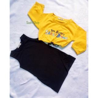 [NEW 2021] Set váy đầm ôm body kèm áo croptop tay dài thun cotton co dãn 4 chiều , set đầm body 2 chi tiết