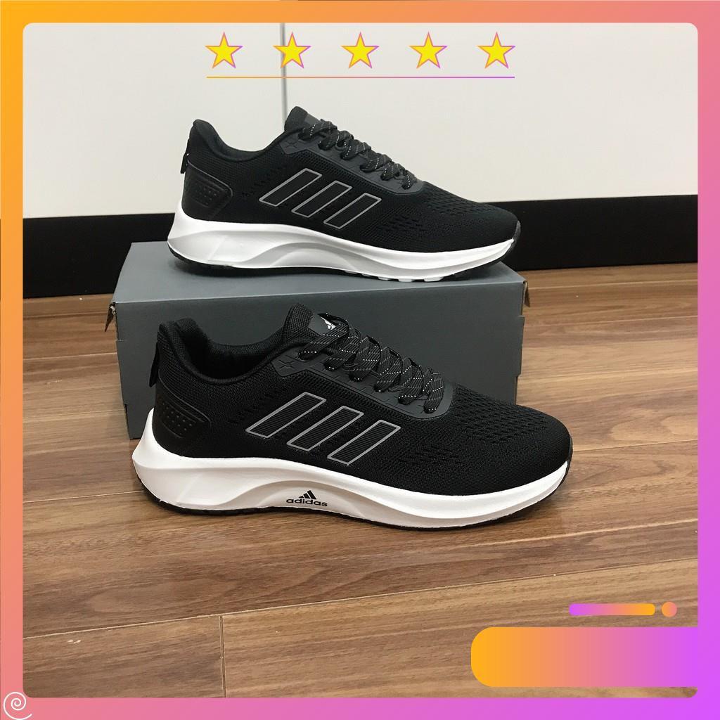 Giày Chạy Bộ ADlDAS Đế Rất Nhẹ đi cực êm chân dùng đi chơi , đi tập GYM phối đồ thể thao cực đẹp
