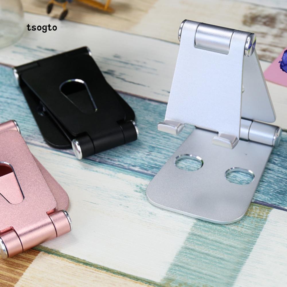 Giá đỡ điện thoại/máy tính bảng bằng hợp kim nhôm gập tự do tiện lợi và thời trang