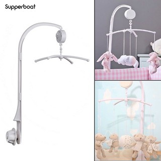 SUPPER DIY Baby Crib Bed Bell Holder Toy Arm Bracket Wind-up Music Box Hanging Stand