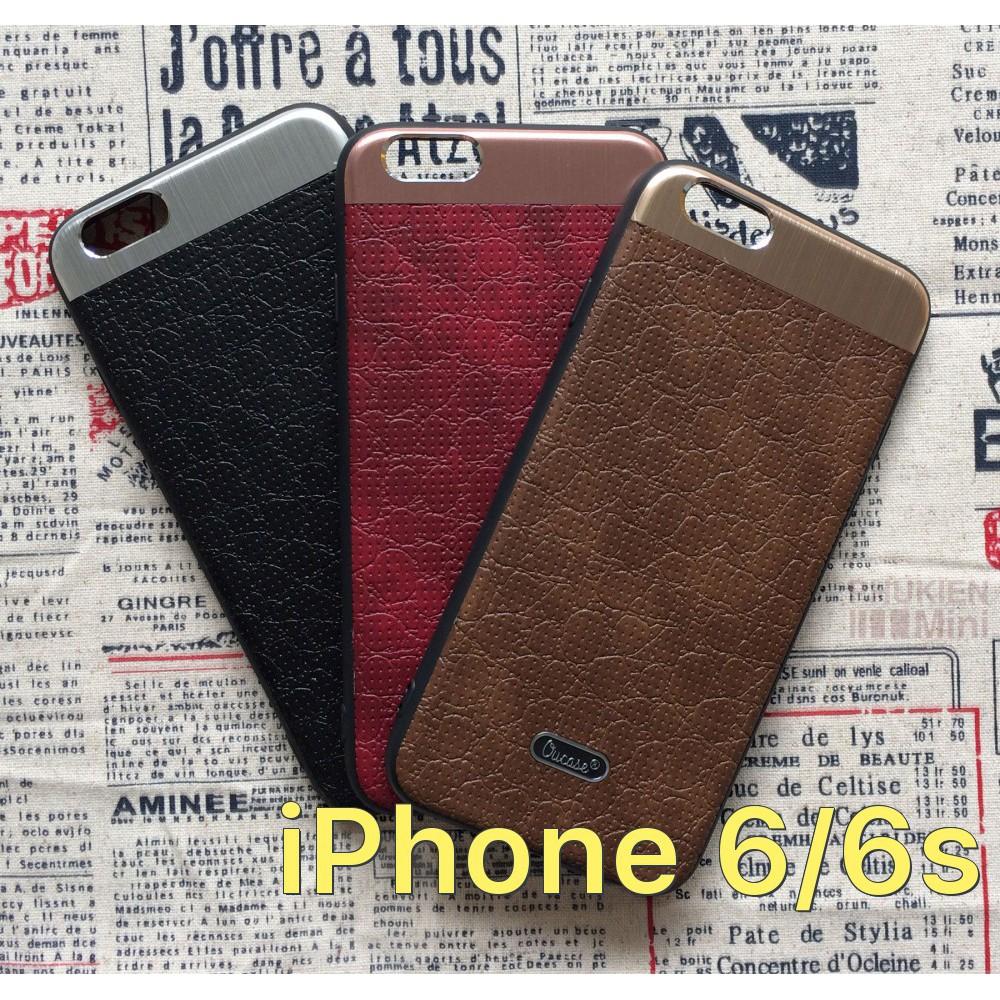Ốp lưng da hiệu OUCase sang trọng cho iPhone 6/6s - 2805338 , 834612596 , 322_834612596 , 115000 , Op-lung-da-hieu-OUCase-sang-trong-cho-iPhone-6-6s-322_834612596 , shopee.vn , Ốp lưng da hiệu OUCase sang trọng cho iPhone 6/6s