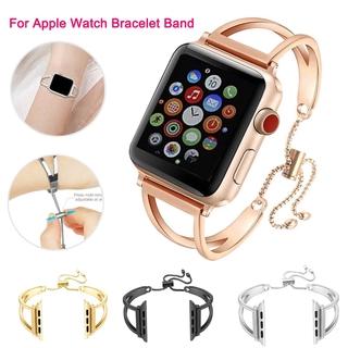 Dây Đeo Bằng Thép Không Gỉ Cho Đồng Hồ Thông Minh Apple Watch Series 6 Se 5 4 3 2 1 Band 38mm 42mm 40mm 44mm
