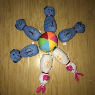 Set chơi bowling nhồi bông cho bé (đồ si tuyển)