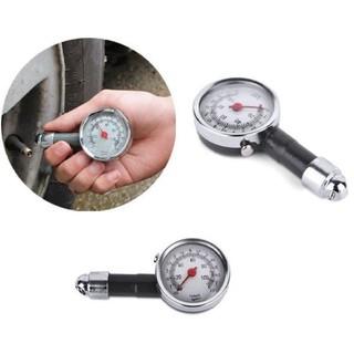 [Bán buôn] Đồng hồ đo áp suất lốp cho ô tô, xe máy - loại cơ - độ chính xác cao thumbnail