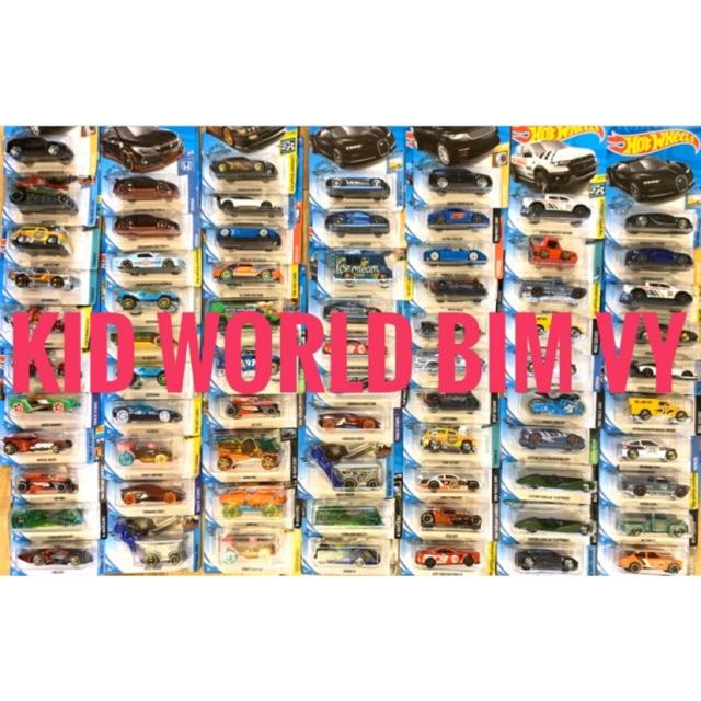 Xe mô hình Hot Wheels nhiều mẫu. Tỷ lệ: 1:64.