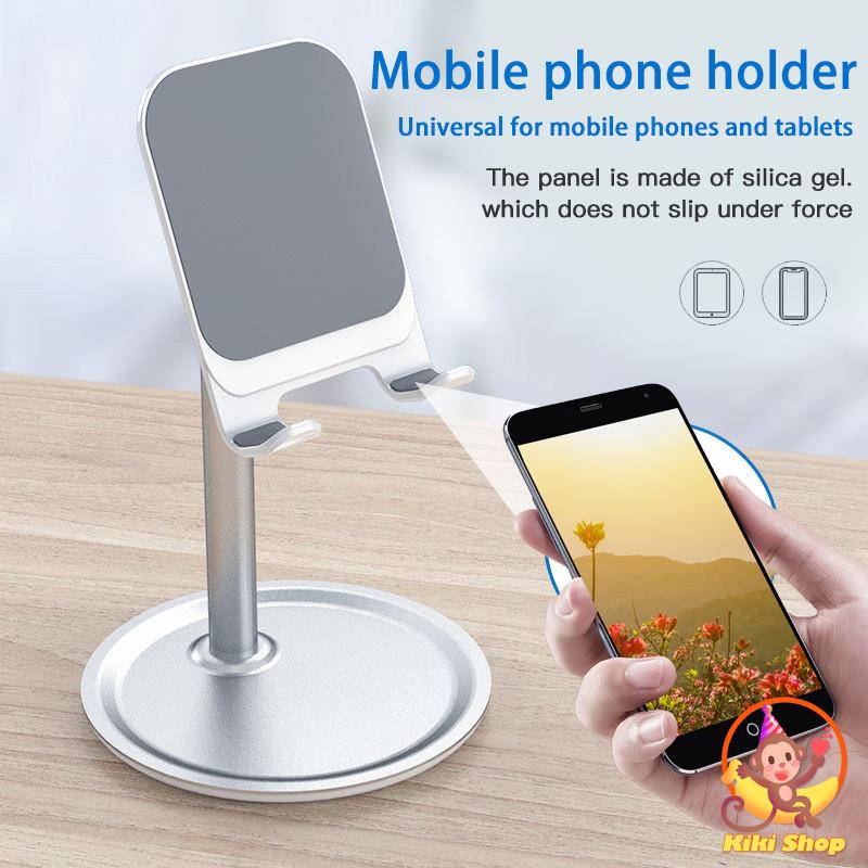 Phone Stand Holder Desktop Stand Mount Removable Metal Support Holder Bracket for IPhone Mobile Phone Desktop IPad Accessories