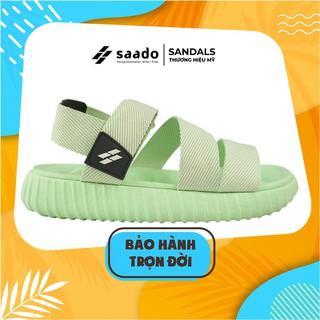Giày Dép Sandal SAADO - YZ06 - Yezi Pale Green