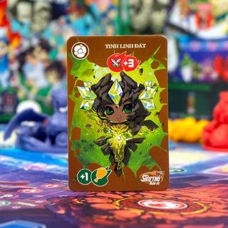 Combo boardgame Lớp Học Mât Ngữ - Siêu Thú Ngân Hà và trọn bộ tập bọc bài - BoardgameVN-5