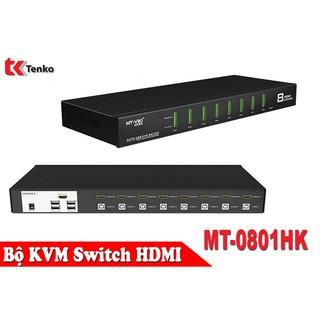 Bộ KVM Switch HDMI 8 In 1 MT-0801HK thumbnail