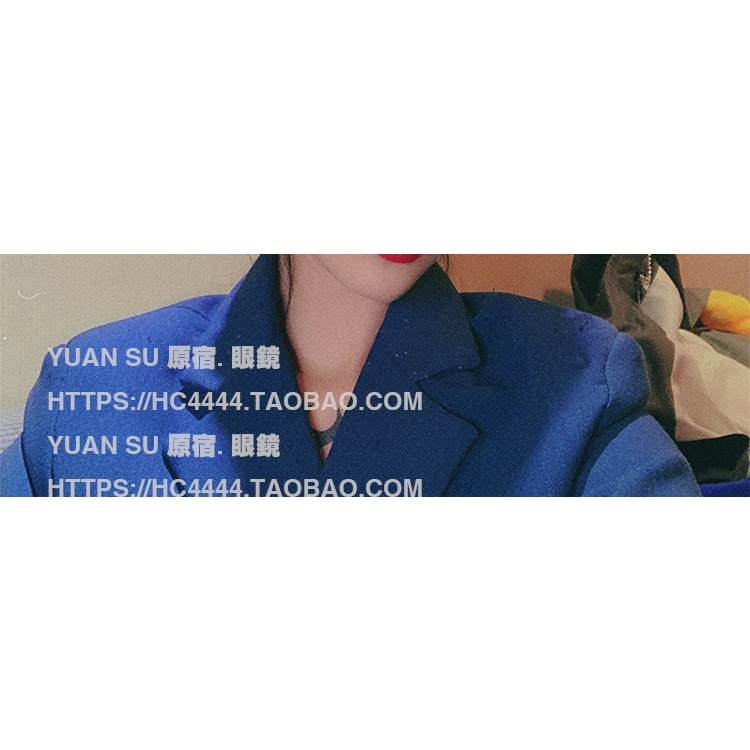 Harajui Feng Korean Version Of The Tide Glasses Frame Men And Women Net Red Large Frame Anti-Blue Light Radiation Glasse