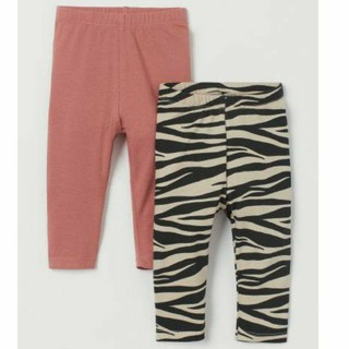 Sét 2 quần legging H&M chuẩn auth Uk săn sale cho bé