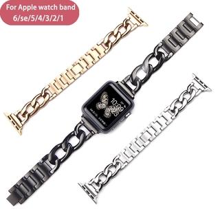 Dây Đeo Bằng Thép Không Gỉ Cho Đồng Hồ Thông Minh Apple Watch 6 Se 5 4 40mm 44mm Series 6 5 4 3 2 38mm 42mm