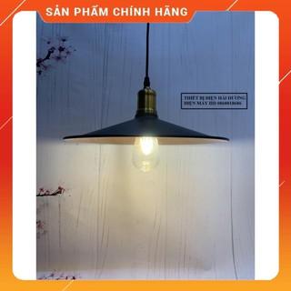 Đèn thả trang trí đĩa bay đui đồng đường kính300/360mm TH-017-GH (Đen) – chưa bao gồm bóng