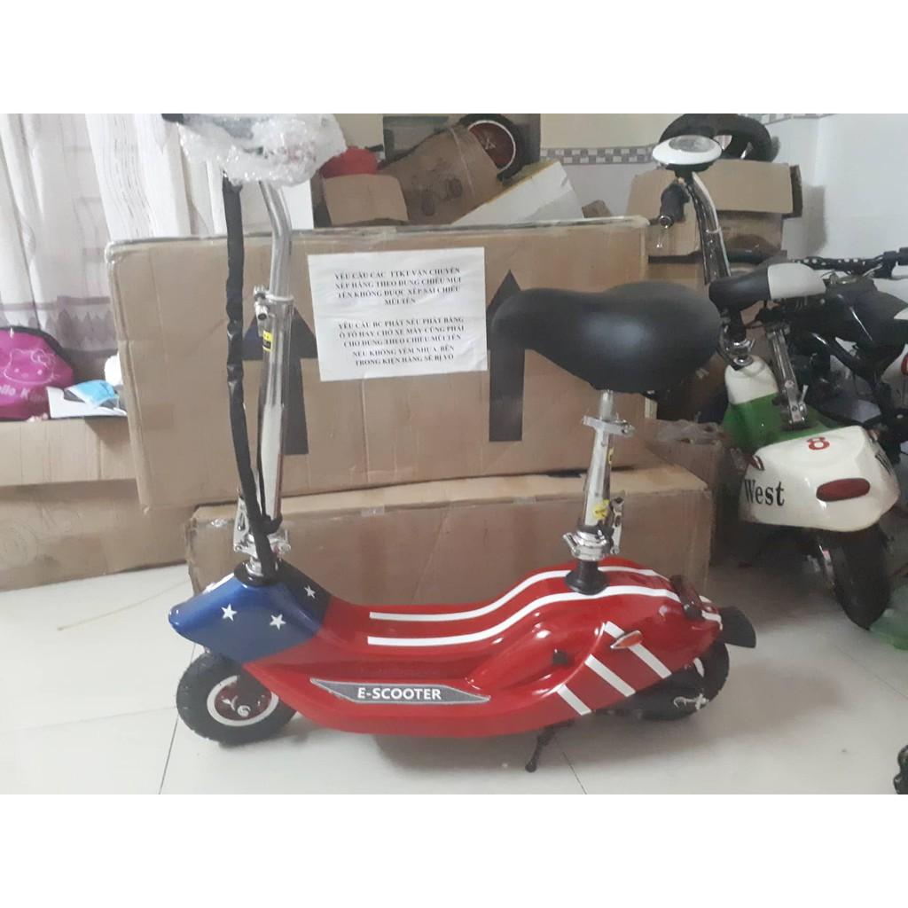 xe điện mini e-scooter cờ mỹ bánh không ruột(hàng cty)