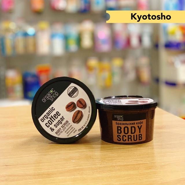 Tẩy Tế Bào Chết Body Cafe Organic Shop