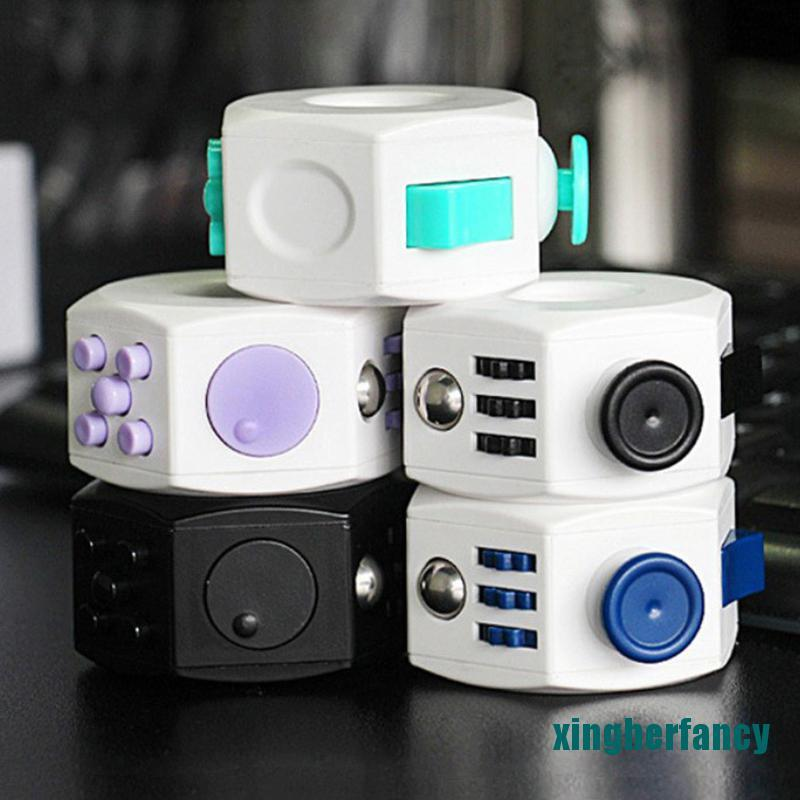 XYCC Decompression Cube Toy Anti Stress Anxiety Relief For Kids Adults Accessories XJSS