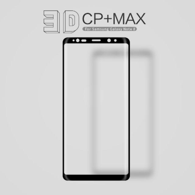 Dán cường lực Samsung Galaxy Note 8 chính hãng Nillkin full màn hình