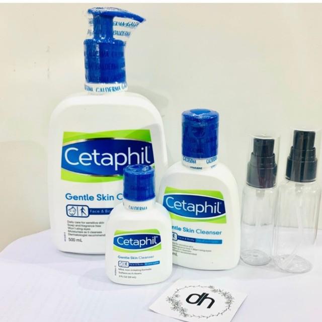 Sữa Rửa Mặt Cetaphil Gentle Skin 59ml/125ml/500ml