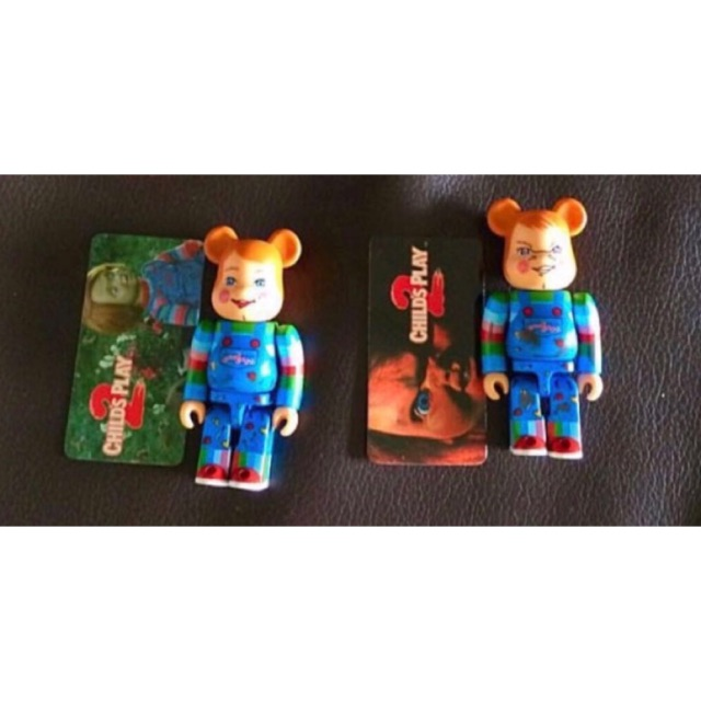 Bearbrick Chucky set