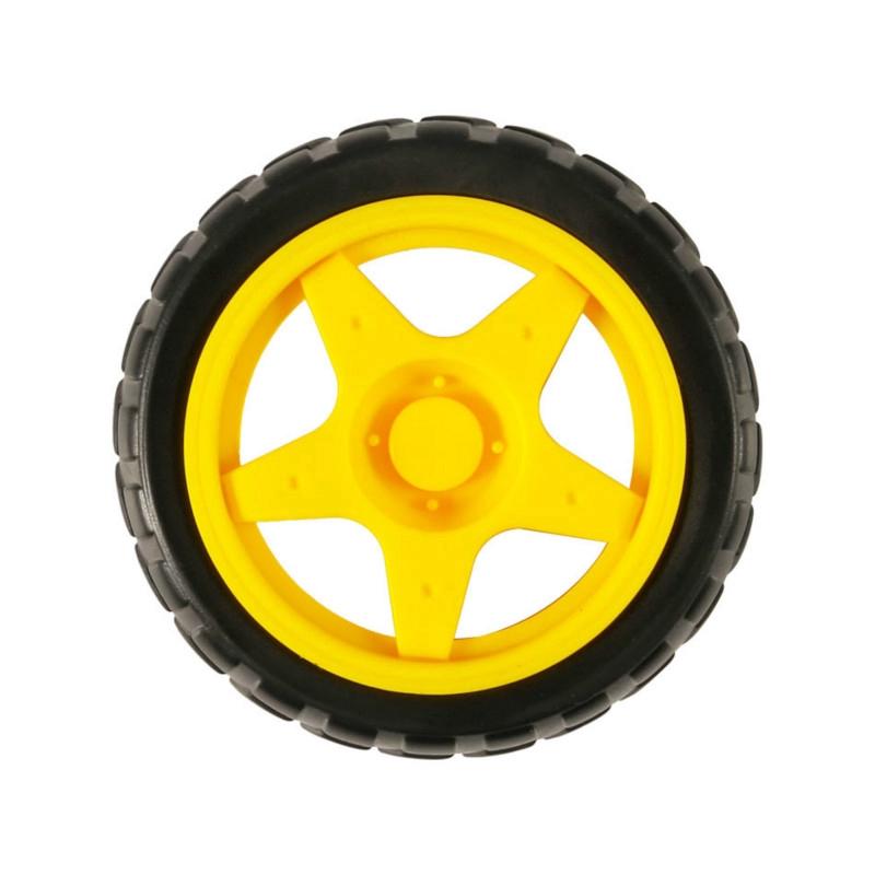 Bộ bánh xe TT và động cơ bánh răng 130 Arduino DC3V-6V dành cho xe hơi/robot thông minh