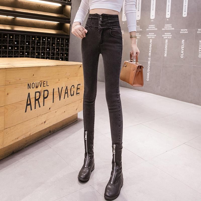 quần jeans lưng cao dáng ôm thời trang cho nữ - 23072953 , 6513847759 , 322_6513847759 , 388600 , quan-jeans-lung-cao-dang-om-thoi-trang-cho-nu-322_6513847759 , shopee.vn , quần jeans lưng cao dáng ôm thời trang cho nữ