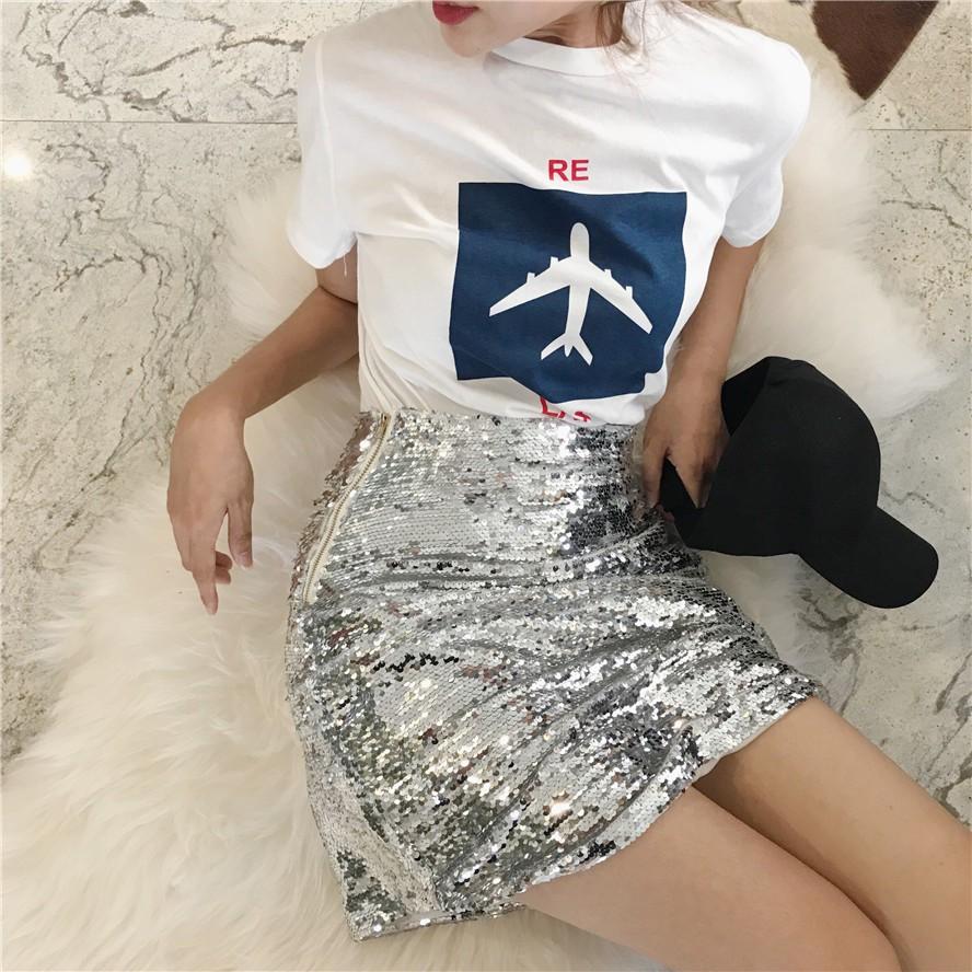 Chân váy Quảng Châu order váy sequined