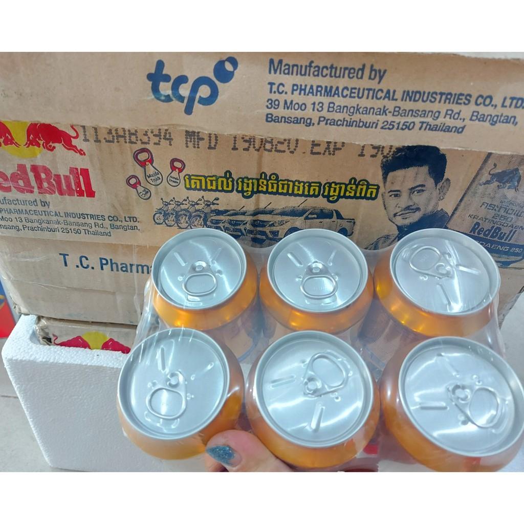 Bò Húc Thái REDBULL (Lóc 6 lon)