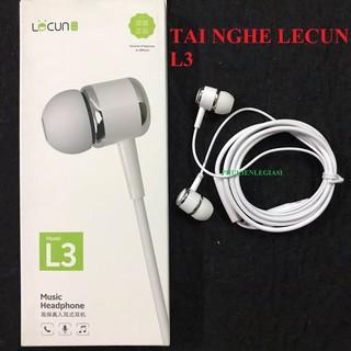 Tai nghe Lecun L3 jack 3.5mm hãng Lecun model L3 thumbnail