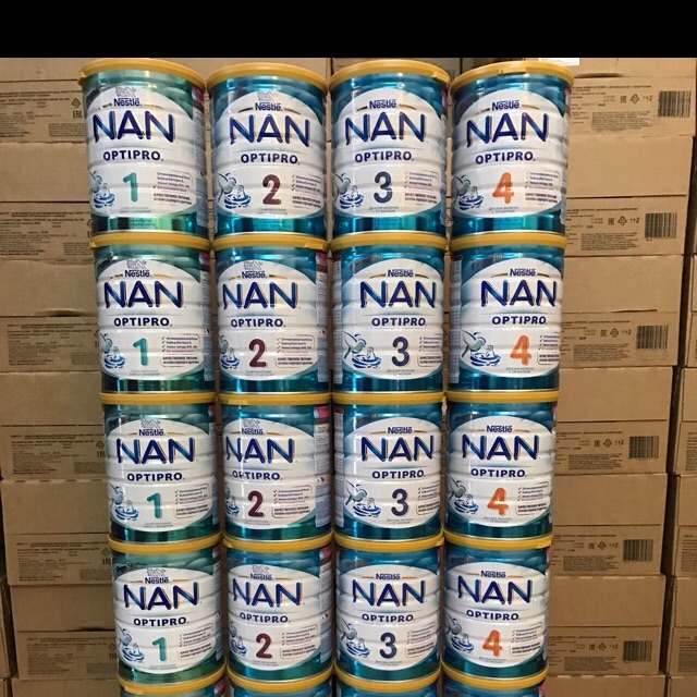 Sữa Nan Nga Optipro 800g ( đủ số 1,2,3,4 ) date mới nhất 2020