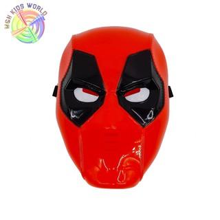 Mặt nạ Quái nhân DEADPOOL có đèn, đồ chơi trẻ em lứa tuổi 3+ mặt nạ hóa trang, halloween, trang phục cosplay (MT49)