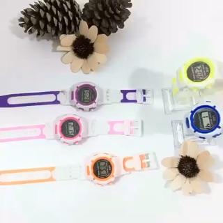 Đồng hồ cho bé thông minh điện tử LCD đẹp Shock Resist DH75 giá siêu yêu