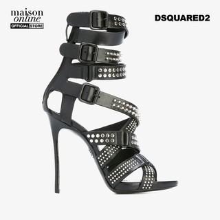 DSQUARED2 - Giày cao gót hở mũi dây phối khóa Studded Multi Strap S17C204538-M802 thumbnail