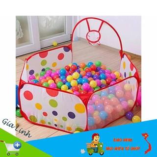 [SALE KHỦNG] [FREE SHIP ] Lều bóng rổ cao cấp tặng kèm 100 quả bóng cho bé