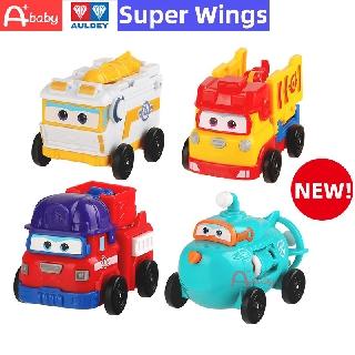 Mới Super Wings Original Auldey Brand Đồ chơi mô hình các phương tiện giao thông thiết kế hoạt hình cho bé thumbnail