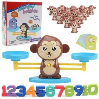 Toys FREESHIP 50K TOÀN QUỐC_KHỈ CON HỌC TOÁN – MONKEY MATCH GAME