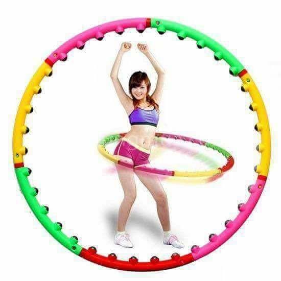 Vòng lắc eo- Vòng lắc eo Massage Hoop bằng nhựa loại tốt