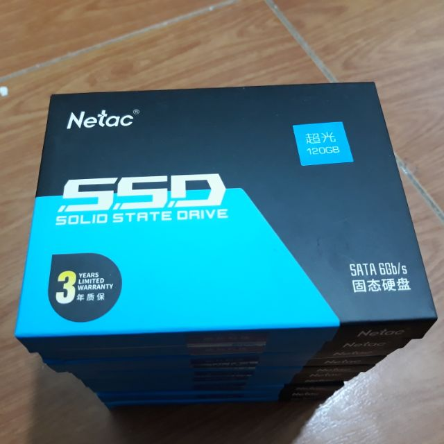 Ổ cứng SSD Netac 120G Bảo Hành