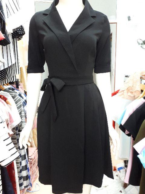 Thumbnail of Váy cổ V thắt eo sang chảnh