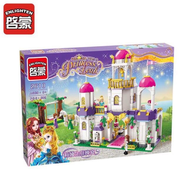 Lego princess leah 2610- Lâu đài tiệc sinh nhật của Leah