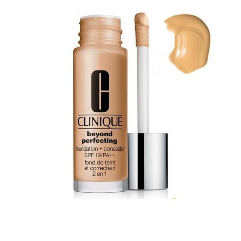 Kem nền và che khuyết điểm Clinique Beyond Perfecting Foundation and Concealer SPF 19/PA++ #True Bei - 3565446 , 1247296161 , 322_1247296161 , 1034000 , Kem-nen-va-che-khuyet-diem-Clinique-Beyond-Perfecting-Foundation-and-Concealer-SPF-19-PA-True-Bei-322_1247296161 , shopee.vn , Kem nền và che khuyết điểm Clinique Beyond Perfecting Foundation and Conc