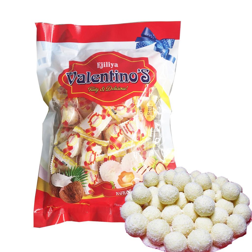 Kẹo kem sữa dừa đậu phộng Valentino