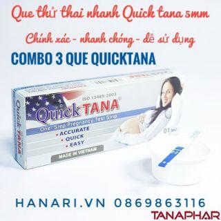 Combo 3 Que thử thai quicktana 5mm thumbnail